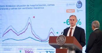 Variante Mu, en México, pero no está clasificada de preocupación: López-Gatell