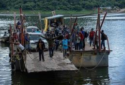 Migrantes haitianos huyen de Chiapas en peligrosas rutas