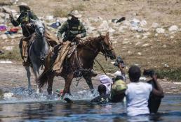 Mayorkas horrorizado por imágenes de campamento migrante