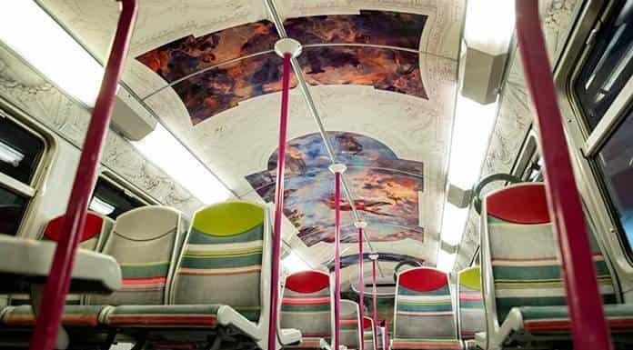 París lleva sus museos al tren de cercanías (FOTOS)'>