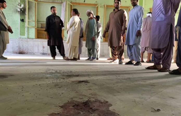 Ya son casi 50 los muertos por ataque suicida a mezquita chií de Afganistán