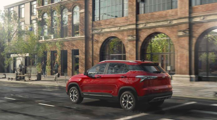 Groove 2022, la entrada que ofrece Chevrolet para el segmento SUV'>