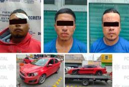 Caen presuntos integrantes de banda delictiva