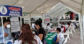 Realizan Feria del Empleo
